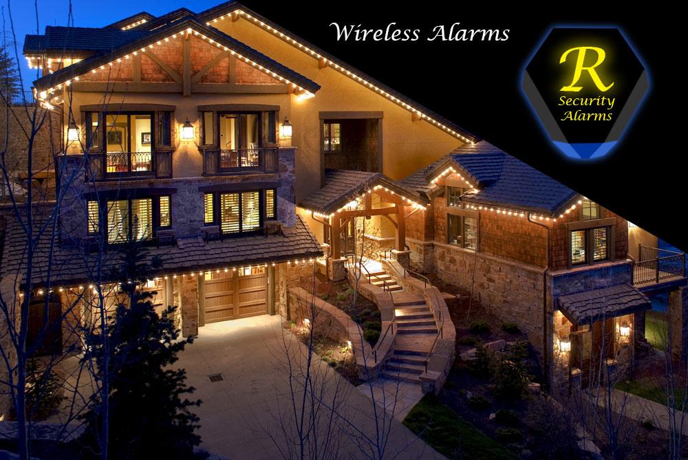 Wireless Security Alarms Ricochet Mesh Technology
